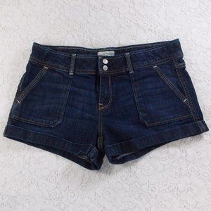 Aeropostale Dark Denim Booty Shorts Size 11/12